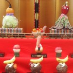 【TABICA】八幡さまのひなまつりで「野菜ひな人形」作り