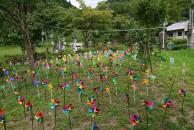 風車と風鈴で彩る多久の夏